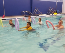 Warm Water Aerobics Noodle Workout