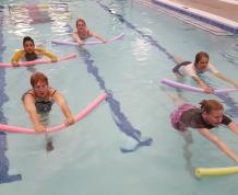 Stretching in Warm Water Aerobics