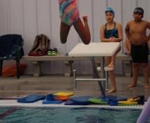 Having Fun on the Dive Blocks